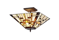 Picture of CH33290MS14-UF2 Mission Semi-flush Ceiling Light