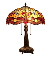 Picture of CH33471AD16-TL2 Dragonfly Table Lamp