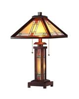 Picture of CH33426WM15-DT3 Double Lit Table Lamp