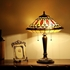 CHLOE Lighting MADELINE Tiffany-style 2 Light Mission Table Lamp