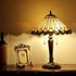 CHLOE Lighting INEZ Tiffany-style 2 Light Mission Table Lamp