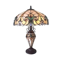 CH18780VP18-DT3 Double Lit Table Lamp