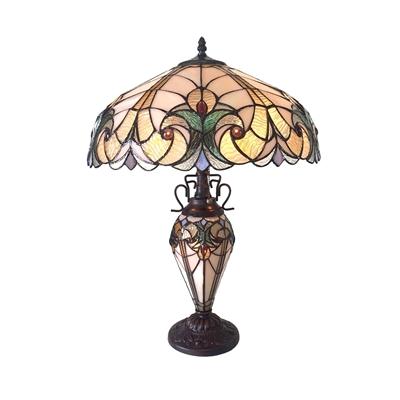 CH18780VP18-DT3 Double Lit Table Lamp