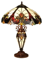 Picture of CH18780VI18-DT3 Double Lit Table Lamp