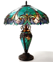 Picture of CH18780VG18-DT3 Double Lit Table Lamp
