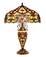 Picture of CH33473IV18-DT3 Double Lit Table Lamp