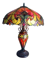 Picture of CH18780VR18-DT3 Double Lit Table Lamp