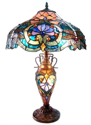Picture of CH1B715BD17-DT3 Double Lit Table Lamp