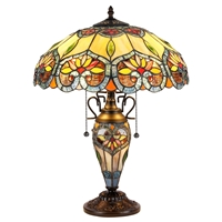 Picture of CH35502BF16-DT3 Double Lit Table Lamp