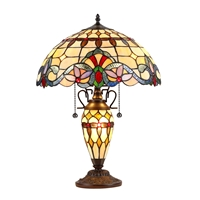 Picture of CH33313VI16-DT3 Double Lit Table Lamp
