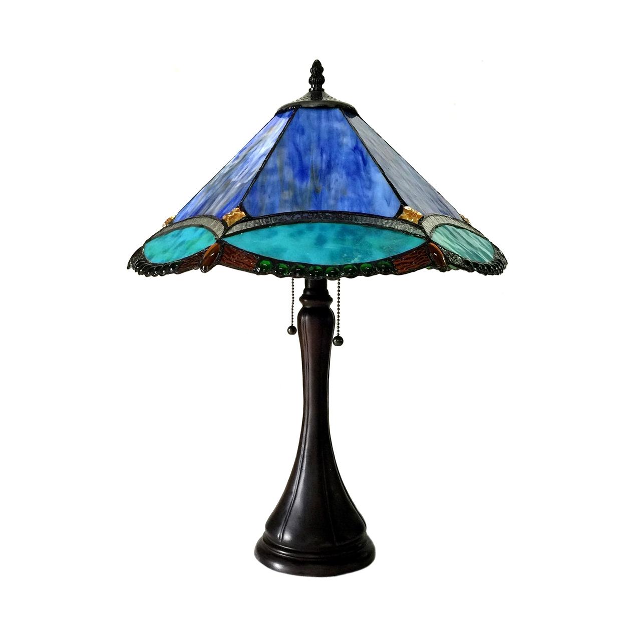 Chloe Lighting Inc Chloe Lighting Amphitrite Tiffany Style 2 Light Victorian Table Lamp 17 Quot Shade