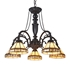 Picture of CH31315MI27-DC5 Large Chandelier