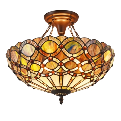 Picture of CH38435GG16-UF2 Semi-flush Ceiling Fixture